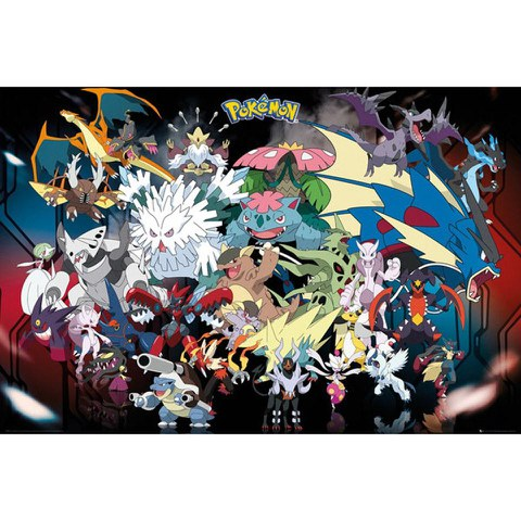 Pokémon Mega Maxi Poster - 61 x 91.5cm