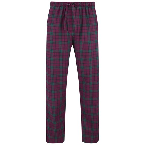 Derek Rose Men's Amelia 12 Trousers - Ruby