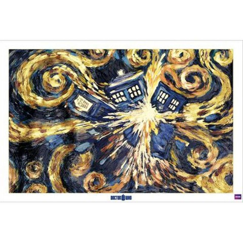 Doctor Who Exploding Tardis - 24 x 36 Inches Maxi Poster