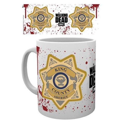The Walking Dead Sheriff Badge - Mug