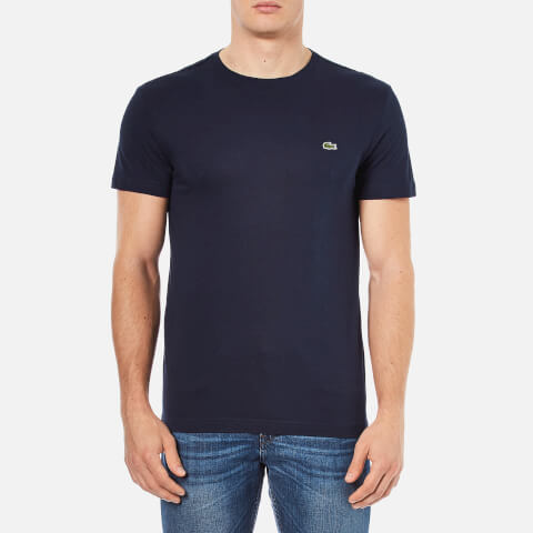 Lacoste Men's Crew Neck T-Shirt - Navy