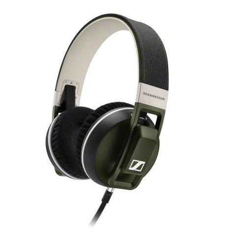 Sennheiser Urbanite XL Over Ear Headphones Inc In-Line Remote & Mic - Olive