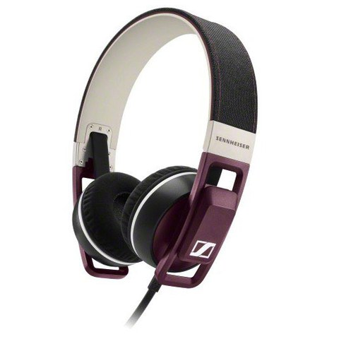 Sennheiser Urbanite On Ear Headphones Inc In-Line Remote & Mic - Plum
