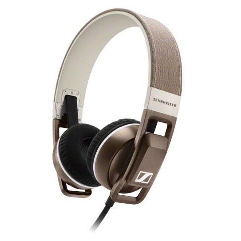 Sennheiser Urbanite On Ear Headphones Inc In-Line Remote & Mic - Sand