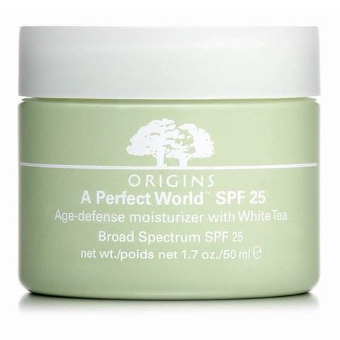 Origins A Perfect World SPF25 Age-Defense Moisturiser with White Tea 50ml