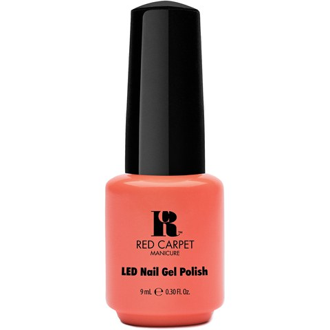 Red Carpet Manicure Staycation - Summer Peach Coral Crème (9ml)