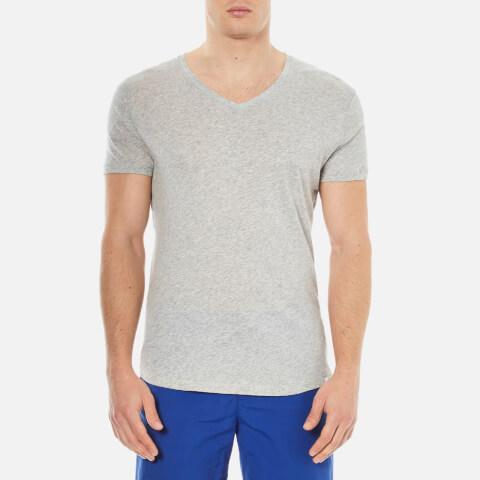 Orlebar Brown Men's V Neck T-Shirt - Mid Grey