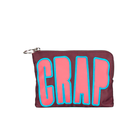 House of Holland Women's Crap Pouch Bag - Maroon