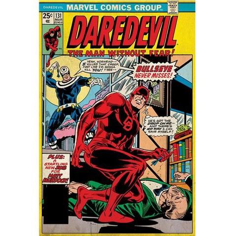 Marvel Daredevil Bullseye Never Misses - 24 x 36 Inches Maxi Poster