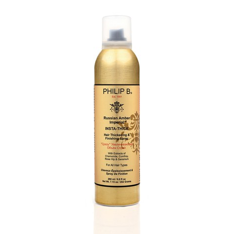 Philip B Russian Amber Imperial Insta-Thick Hair Spray (260ml)