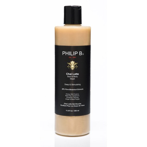 Philip B Chai Latte Soul and Body Wash (350ml)
