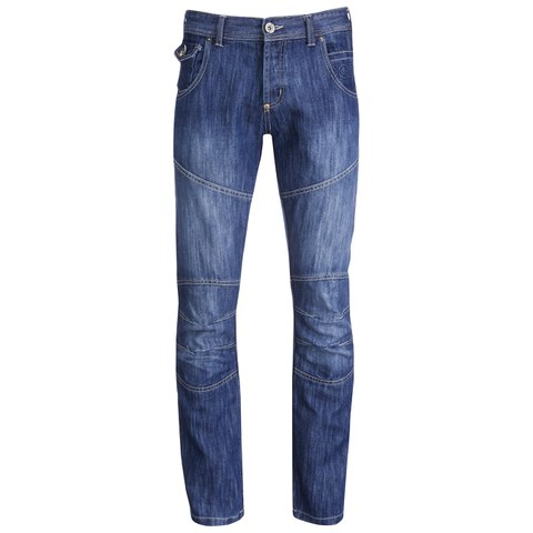 Crosshatch Men's Newport Jeans - Stone Wash