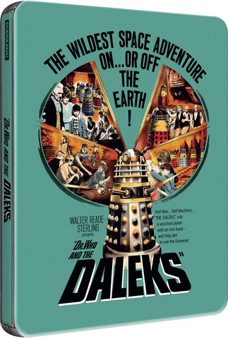 Dr Who and the Daleks - Zavvi Exclusive Limited Edition Steelbook