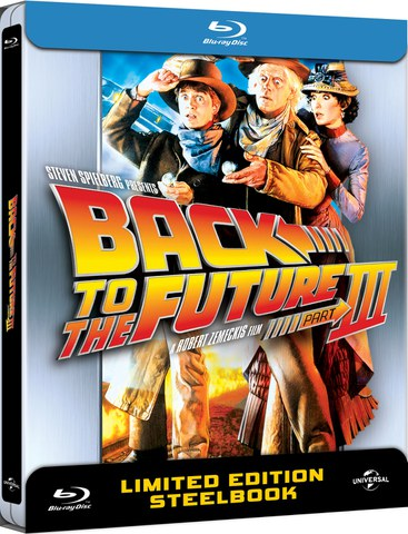 Regreso al Futuro III - Steelbook Exclusivo de Edición Limitada en Zavvi