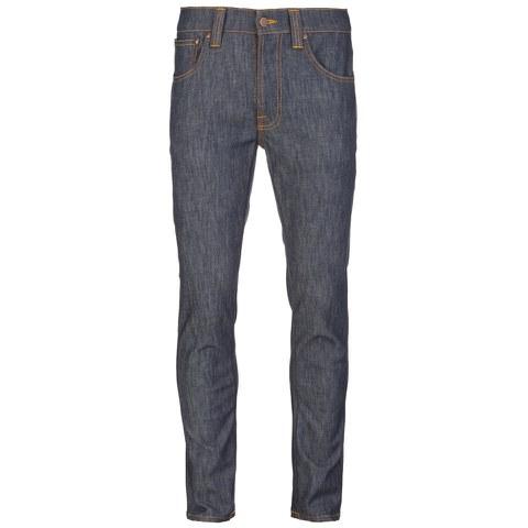 Nudie Jeans Men's Lean Dean Straight/Slim Fit Tapered Leg Jeans - Dry Iron