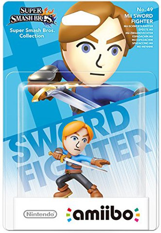 amiibo Smash Mii Sword Fighter