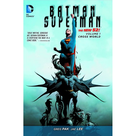 DC Comics Batman Vs. Superman: Cross World - Volume 01 (The New 52) Paperback Graphic Novel