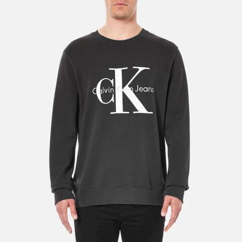 Calvin Klein Men's 90's Re-Issue Sweatshirt - Black