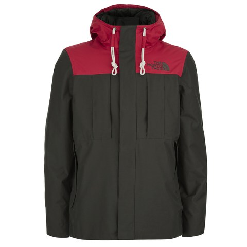 The North Face Men's Himalayan 3 in 1 Jacket - Black Ink Red