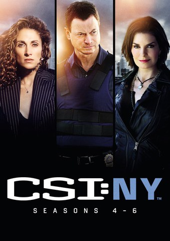 CSI: New York - Season 4-6 Boxset