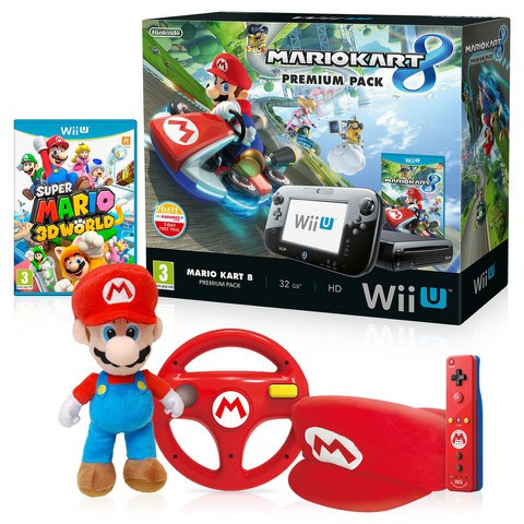 wii u mario kart 8 mega bundle nintendo uk store. Black Bedroom Furniture Sets. Home Design Ideas