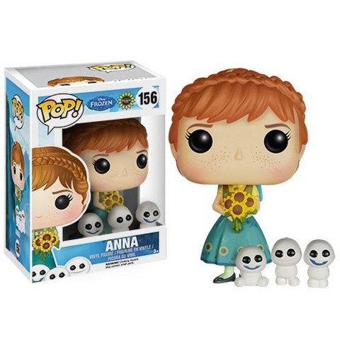 Frozen Fever POP! Disney Vinyl Figura Anna