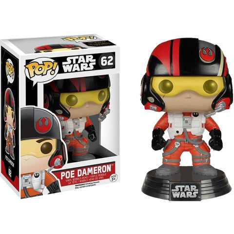 Star Wars: Das Erwachen der Macht - Poe Dameron Funko Pop! Vinylfigur