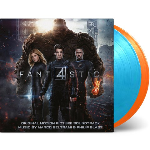 Fantastic Four: The Original Motion Picture Soundtrack OST (2LP) -  Zavvi Exclusive Ltd Edition Vinyl - Thing Edition (500 Worldwide Only)