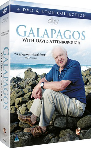 Galapagos with David Attenborough (Includes Book)