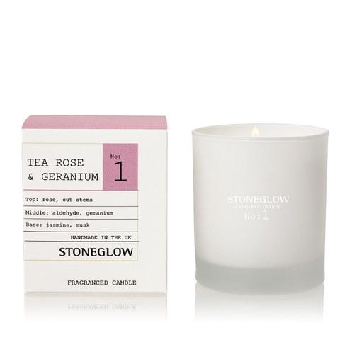 Stoneglow Modern Apothecary No. 1 Tumbler - Tea Rose and Geranium