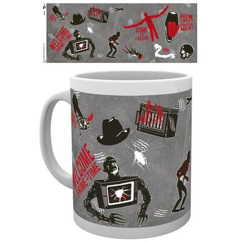 Nightmare on Elm Street Collage - Mug