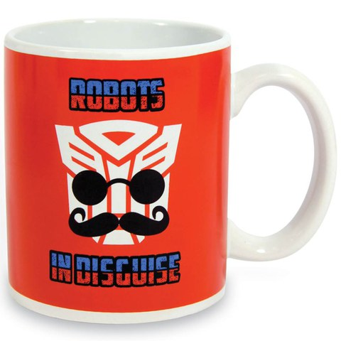 Transformers Robots in Disguise Heat Changing Mug