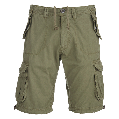 Brave Soul Men's George Cargo Shorts - Khaki