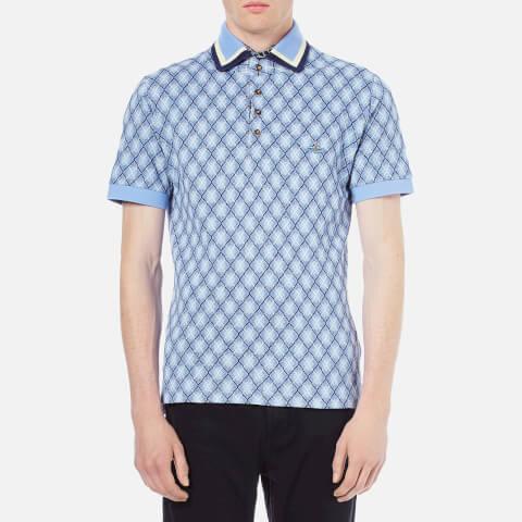 Vivienne Westwood MAN Men's Sugar Pique Classic Polo Shirt - Navy