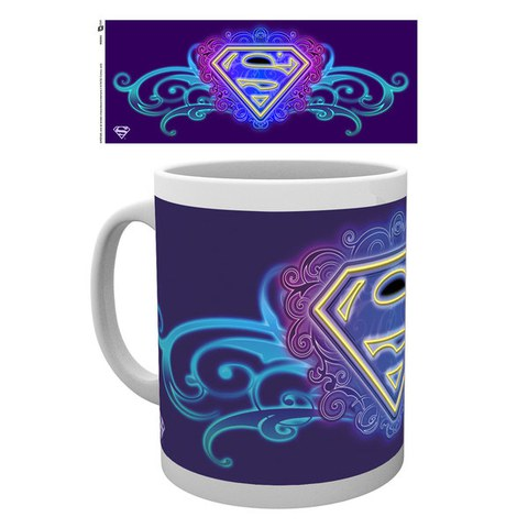 DC Comics Supergirl Neon - Mug