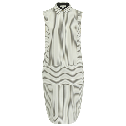 rag & bone Women's Virginia Dress - Black/White Stripe