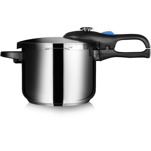 Tower T90101 Pressure Cooker - Stainless Steel - 6L/22cm
