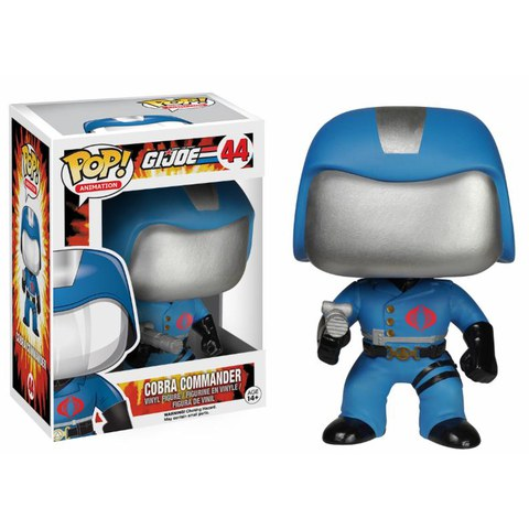 G.I. Joe Cobra Commander Funko Pop! Figuur