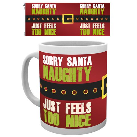 Christmas Sorry Santa - Mug