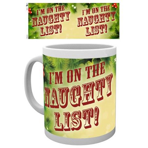 Christmas Naughty List - Mug