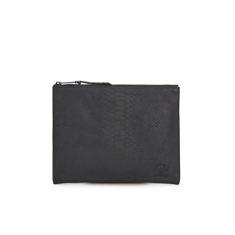 Herschel Supply Co. Network Large Coin Pouch - Black Snake