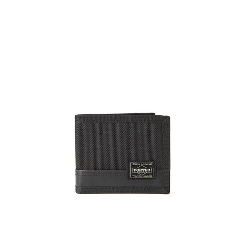 Porter-Yoshida Men's Tanker Wallet - Black Print