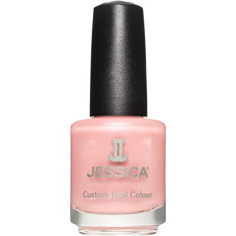 Jessica Nails Cosmetics Custom Colour Nail Varnish - Tea Rose (14.8ml)