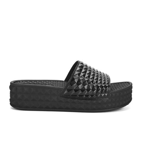 Ash Women's Scream Flatform Slide Sandals - Black