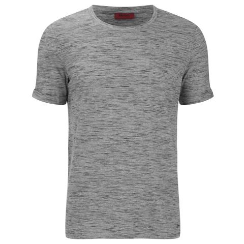 HUGO Men's Dastings Crew Neck T-Shirt - Grey