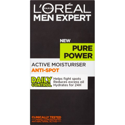 L'Oréal Paris Men Expert Pure Power Moisturiser 50ml