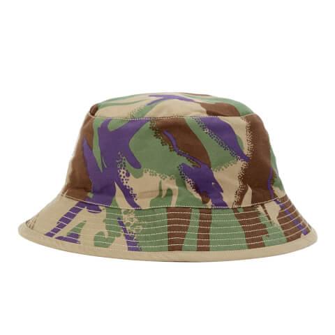 Maharishi Men's Reversible Camo Bucket Hat - Papal Woodland/Sand