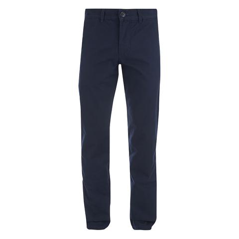 Oliver Spencer Men's Worker Trousers - Cheviot Navy