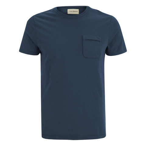 Oliver Spencer Men's Envelope T-Shirt - Navy
