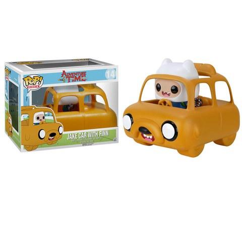 Adventure Time Jake Car And Finn Pop! Vinyl Figure